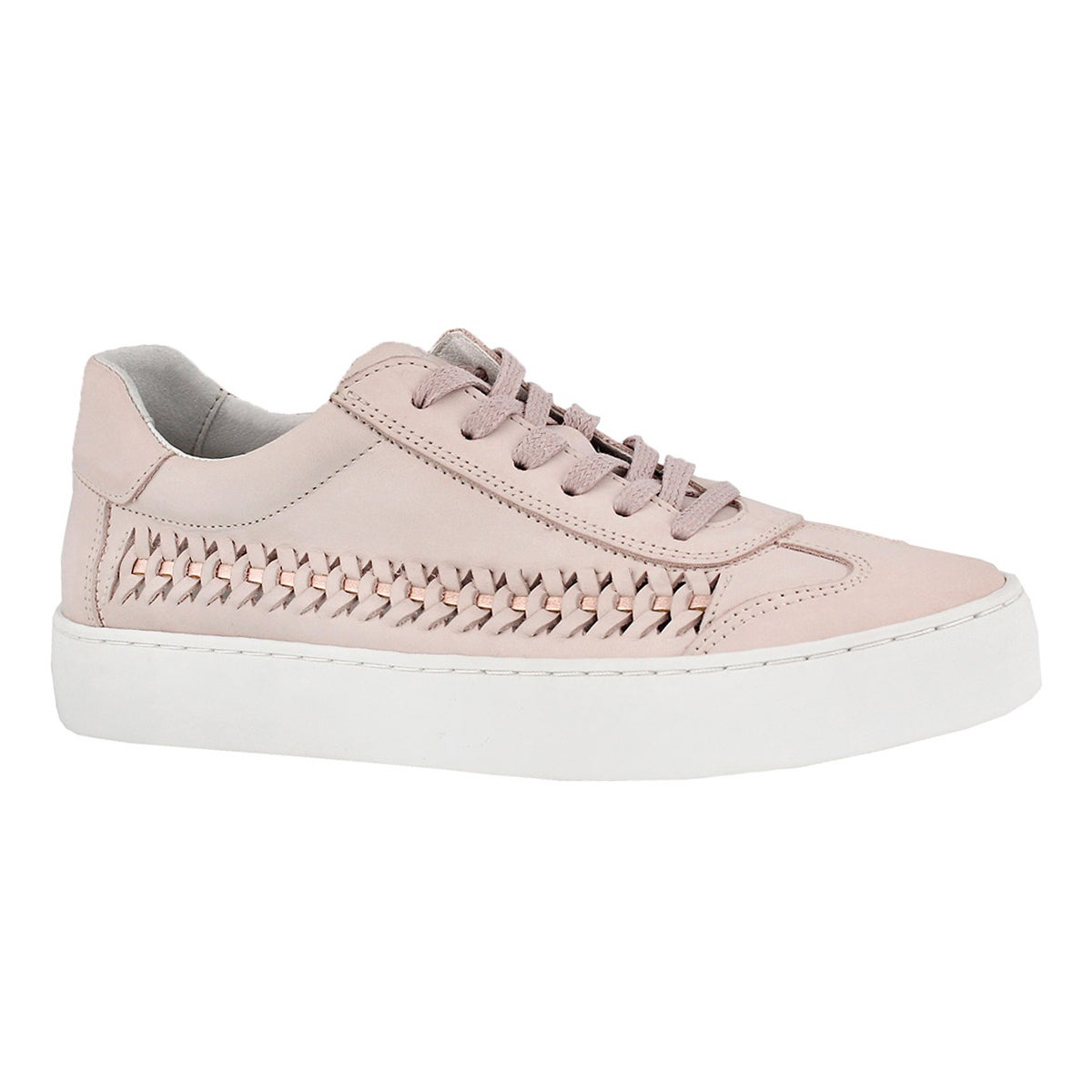 Women's BIANA pink casual lace up sneakers