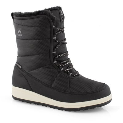 Lds Bianca black winter boot