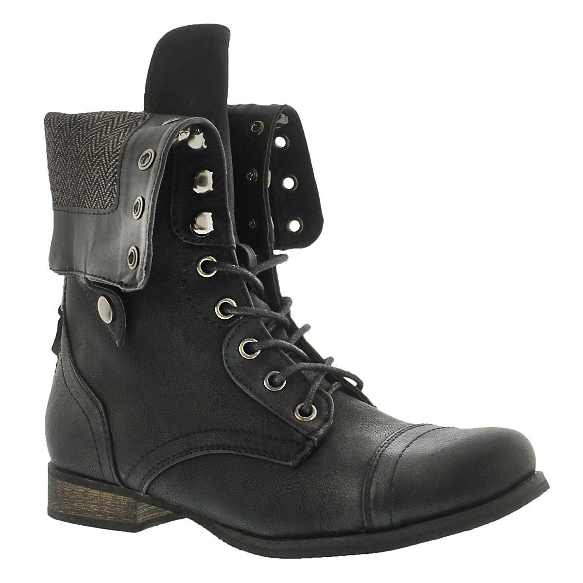 Creative Soda Fold Over Combat Boot  Cicihot Boots Catalogwomen39s Winter