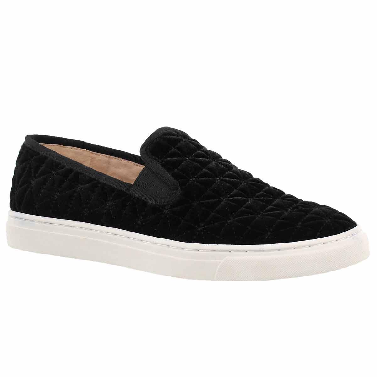 Women's BILLENA black casual slip on shoes