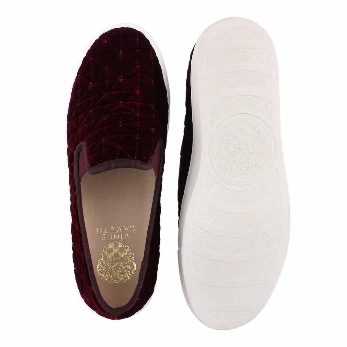 Lds Billena wine casual slip on shoe
