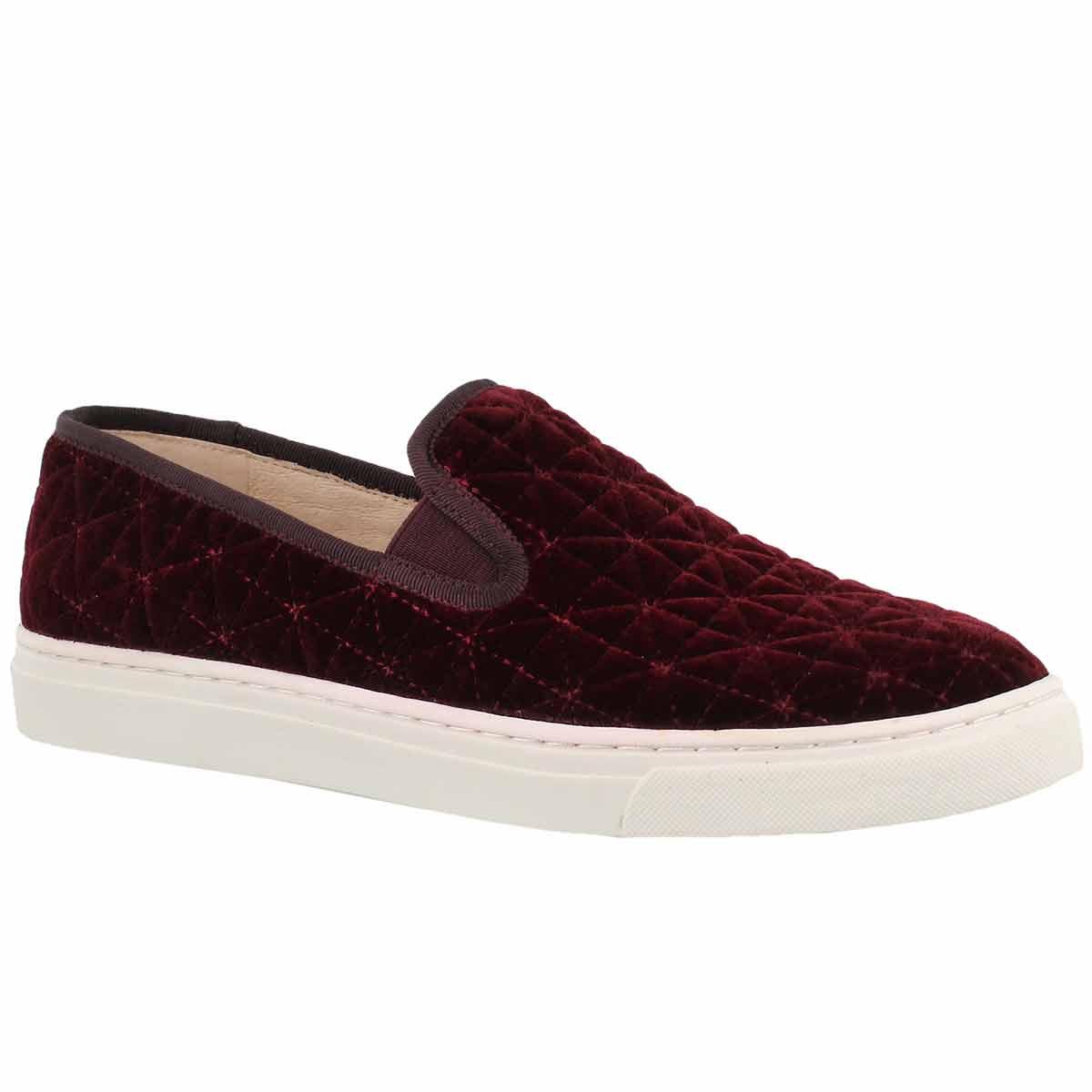 Women's BILLENA wine casual slip on shoes