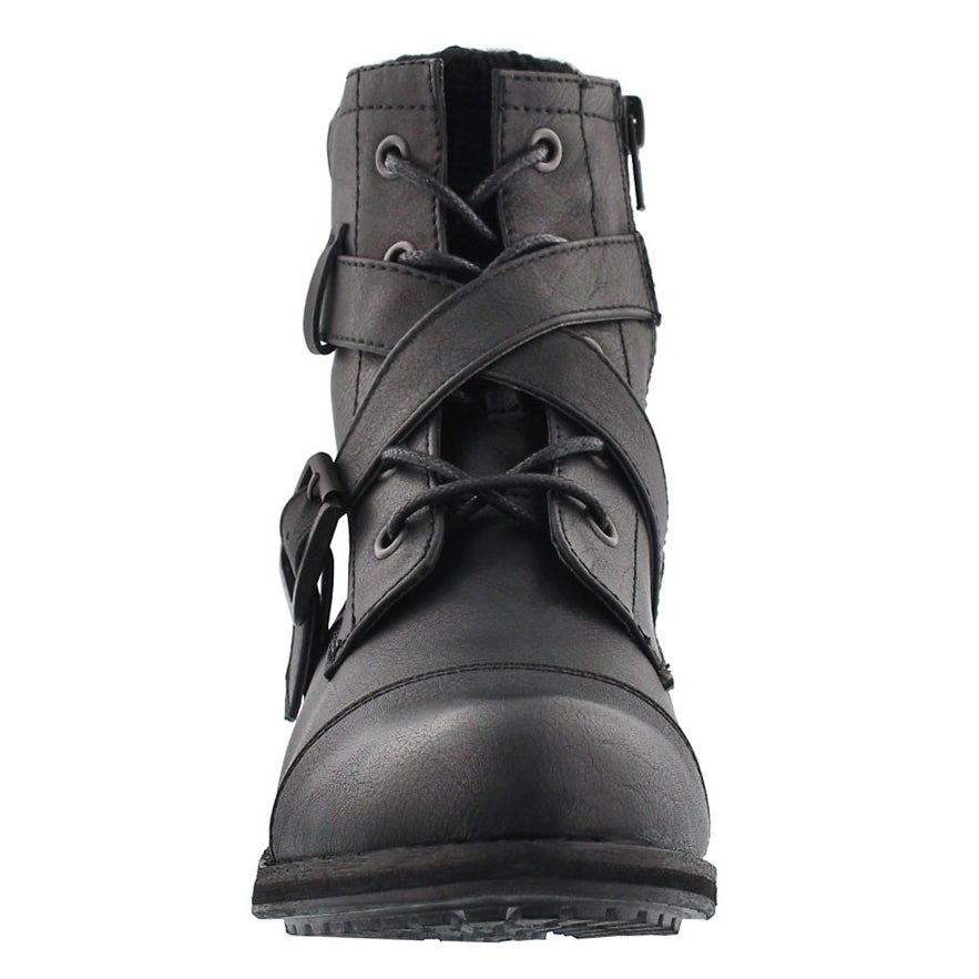Lds Bindi black casual ankle boot
