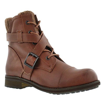 SoftMoc Women's BINDI cognac casual ankle boots