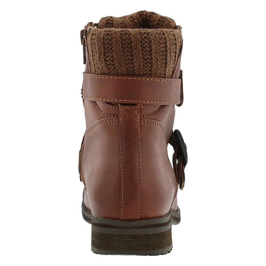 Lds Bindi cognac casual ankle boot