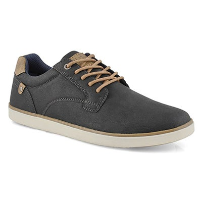 Mns Bishop black lace up casual sneaker