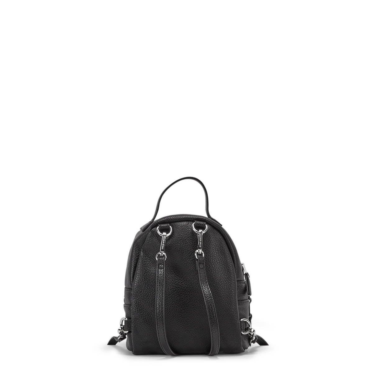 Lds BJacki black fashion mini backpack