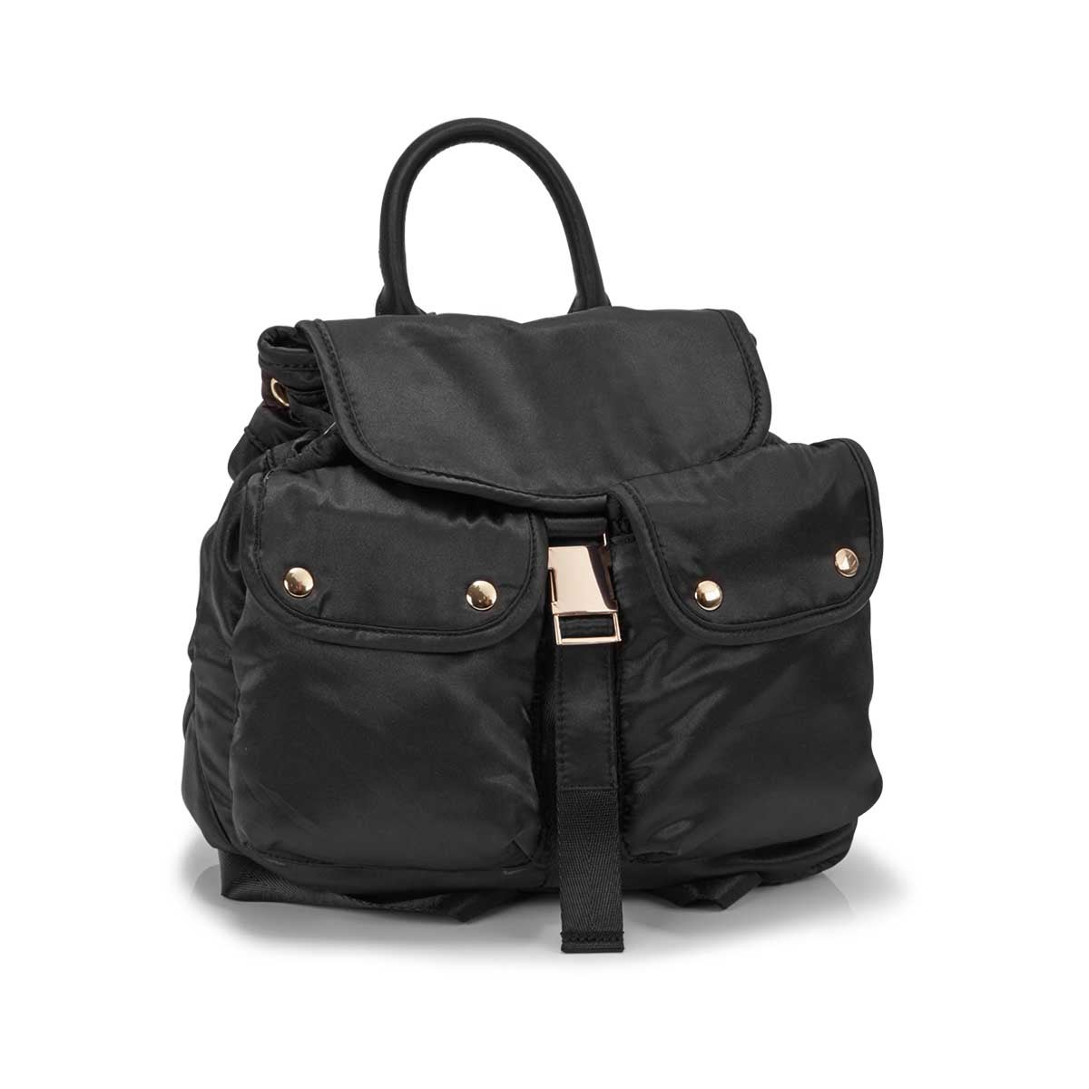 Women's BJAX black backpack