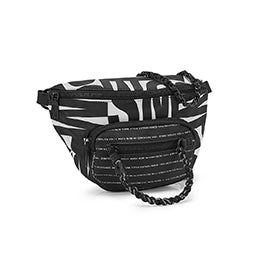 Lds BJordan black/white fanny pack