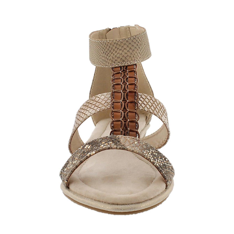 Sandale à bride axiale Bjork, chair, fem