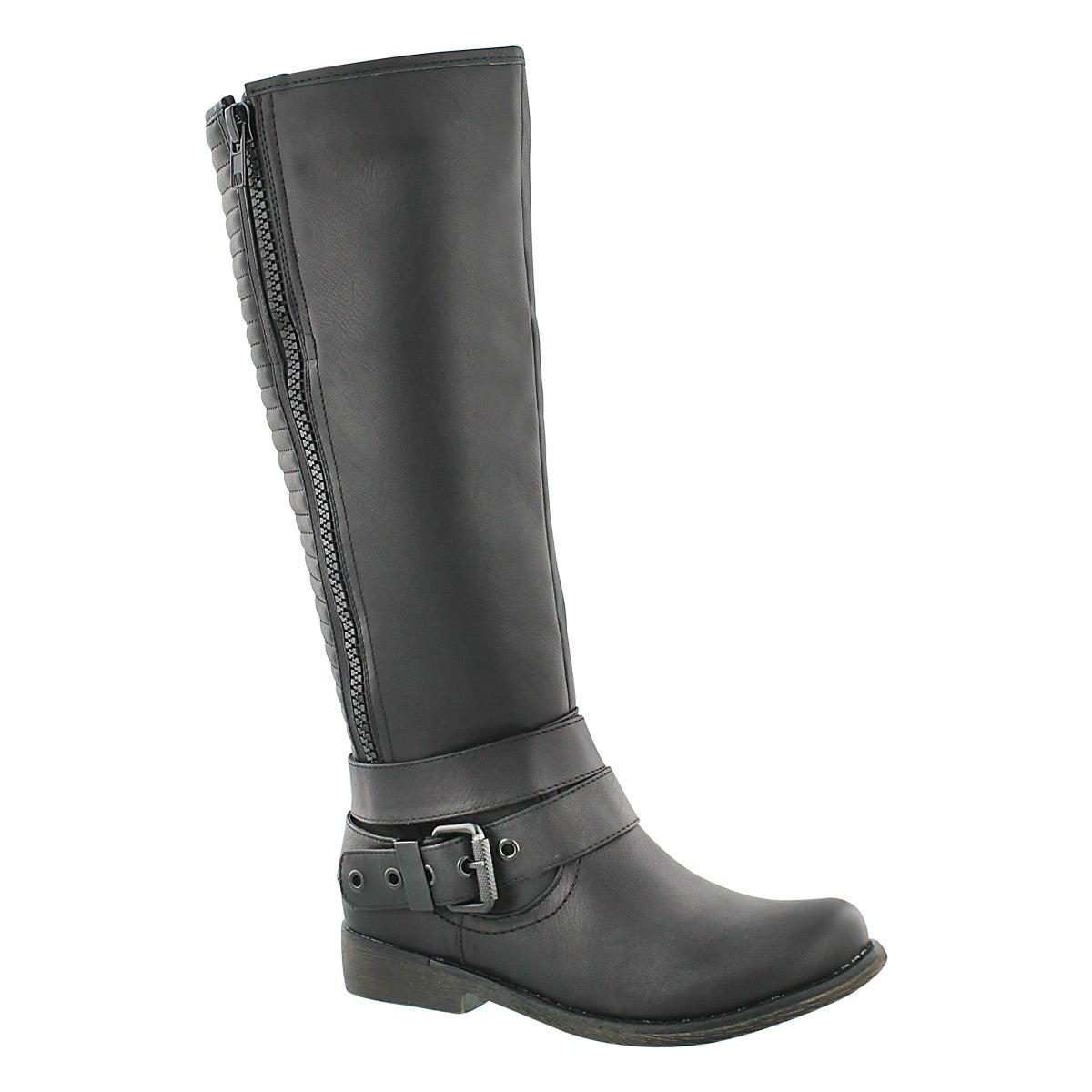 Women's BLAKELEY black riding boots