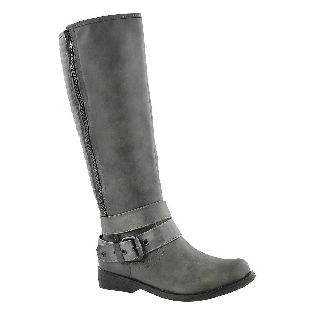 Women's BLAKELEY grey riding boots