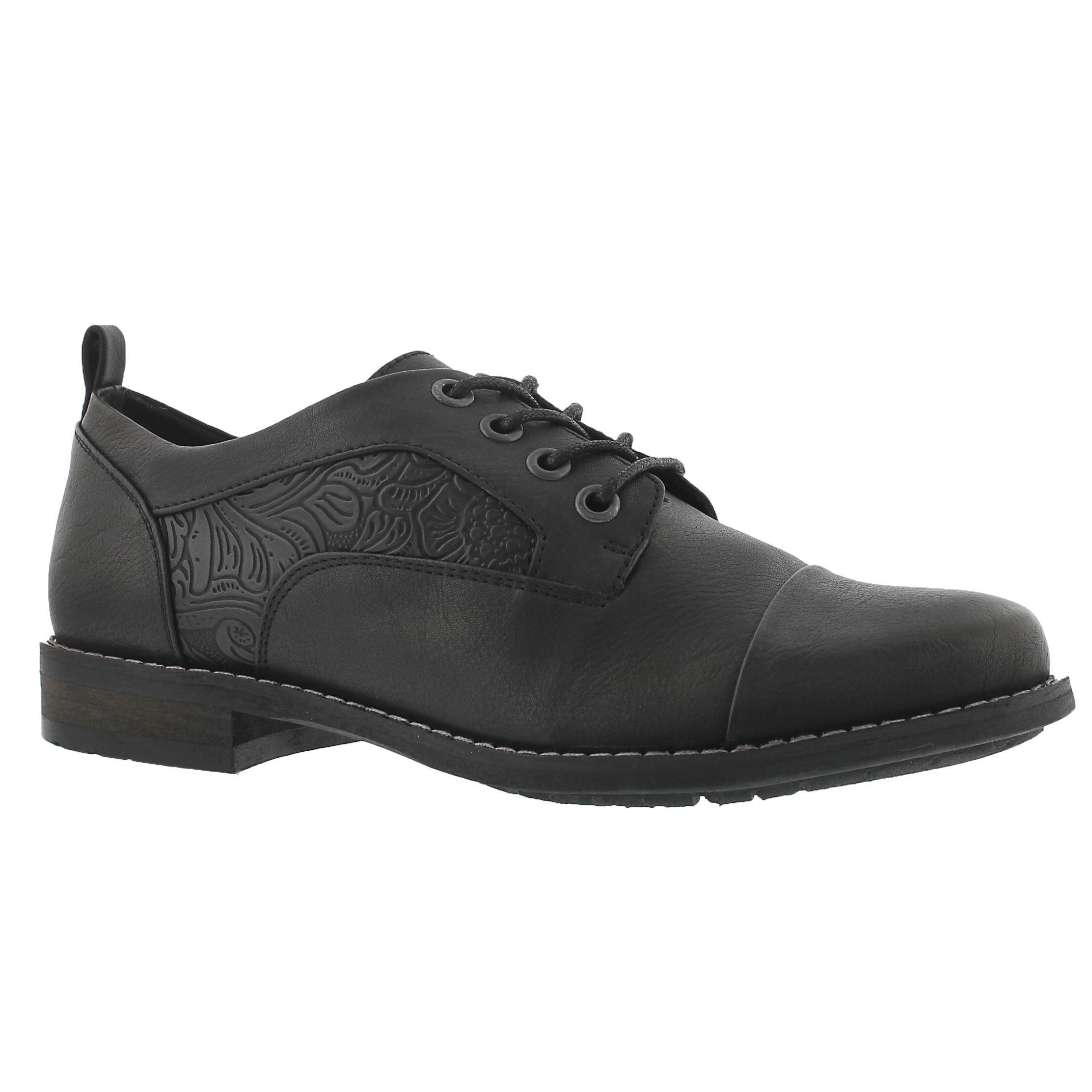 Lds Blanchette black lace up oxford