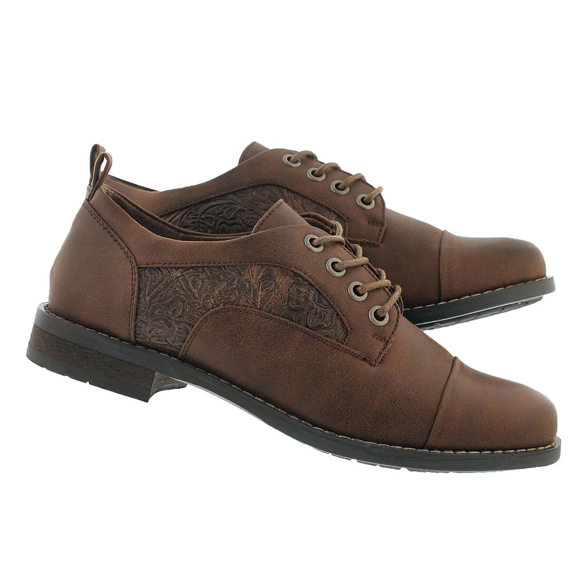 Lds Blanchette tan lace up oxford