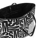 Lds BLindy black/white tote bag