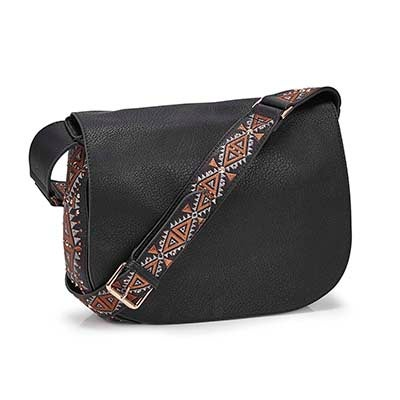 Lds BLisette black cross body bag