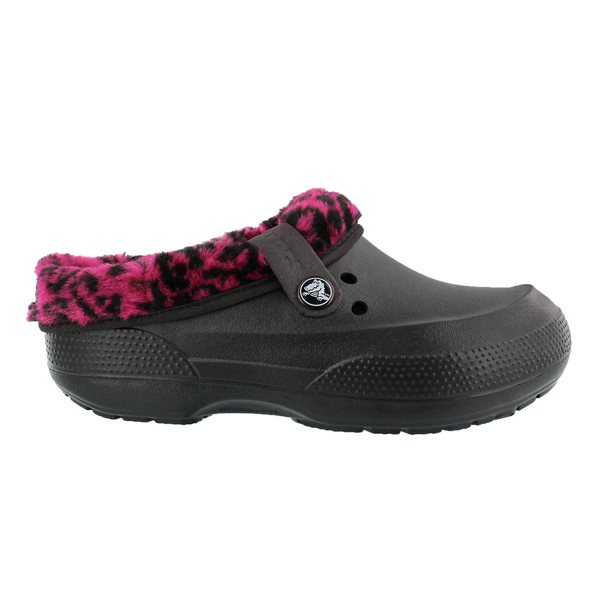 Lds Blitzen II Graphic blk/berry clog