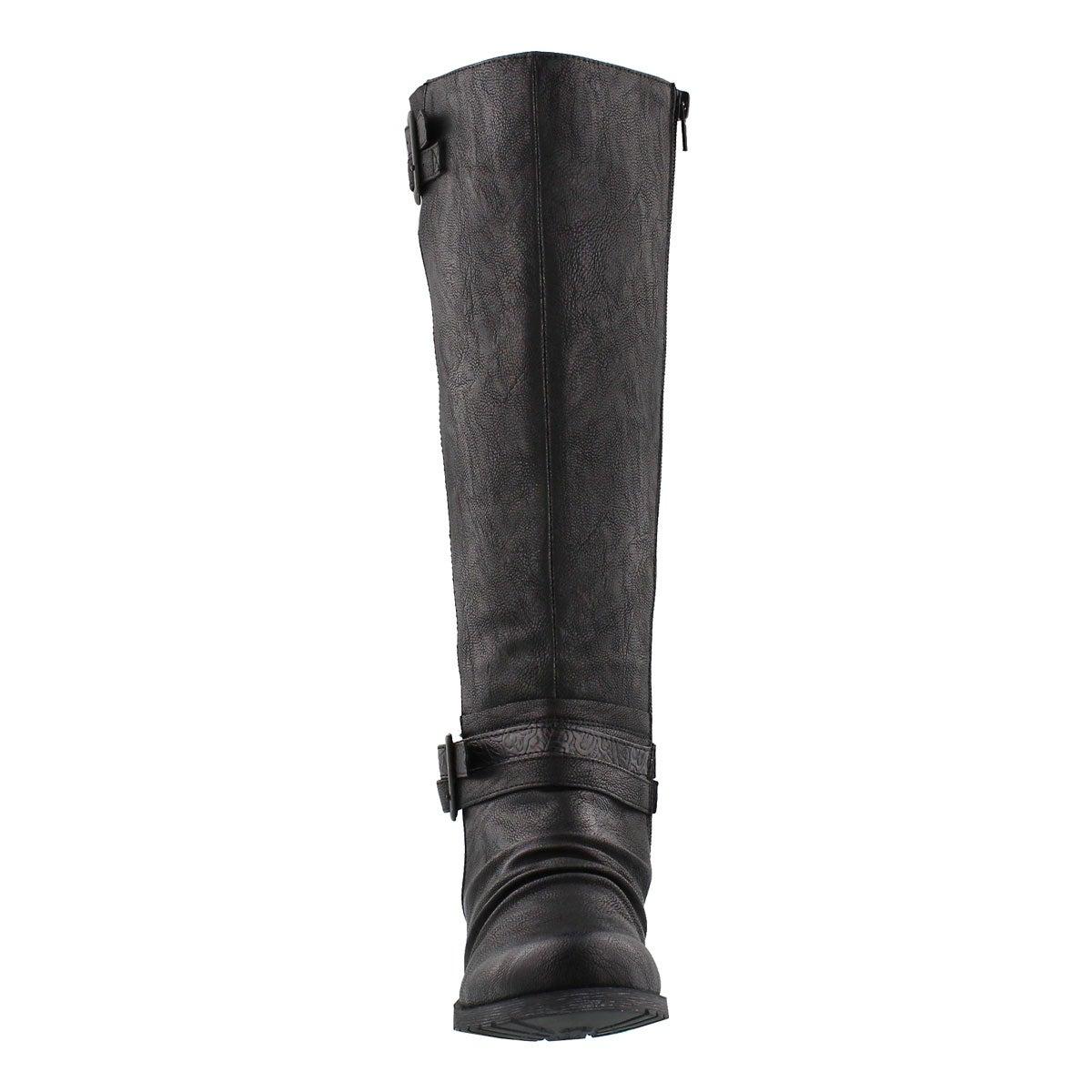 Botte d'équitation Blixi II, noir, femme