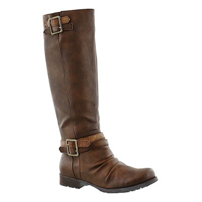 Lds Blixi II cognac riding boot