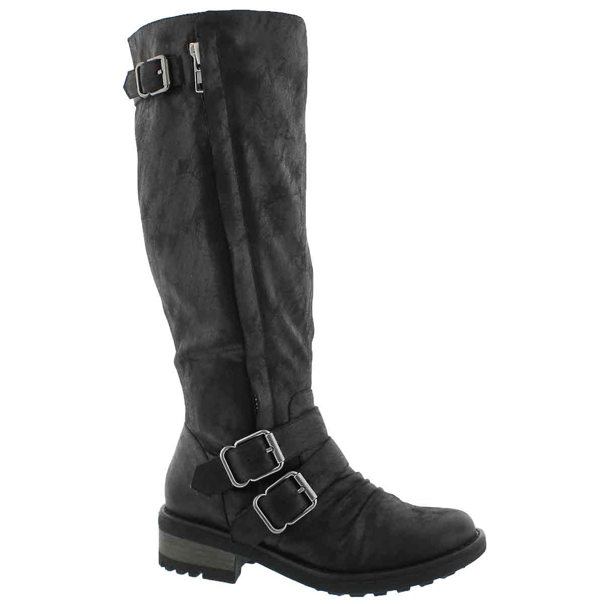 Women's BLIXI III I black riding boots