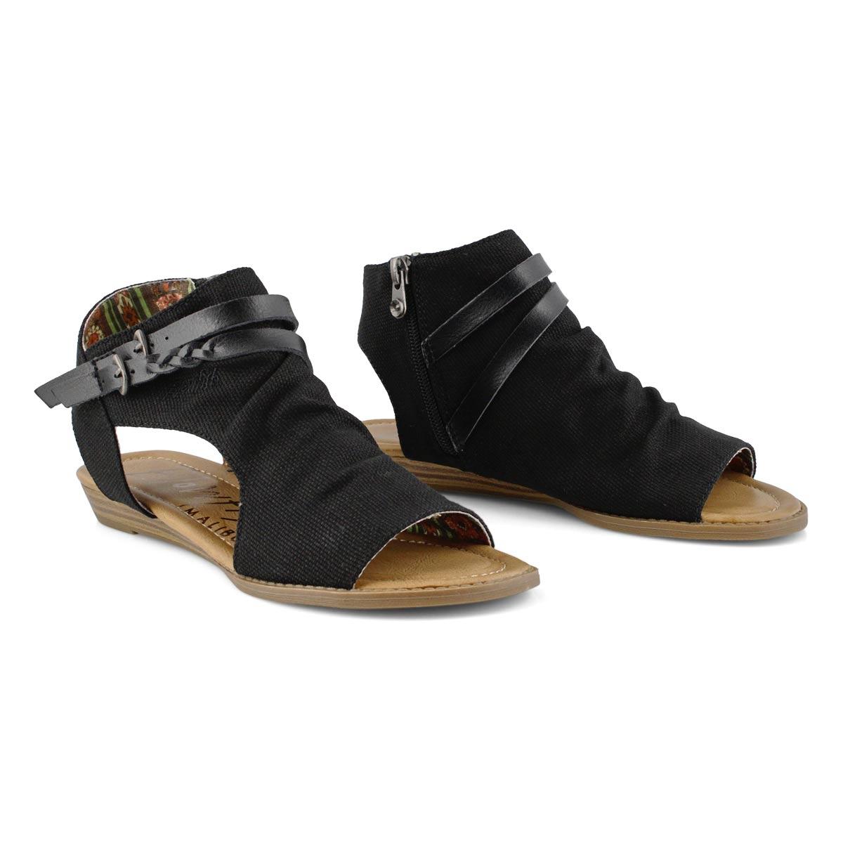 Lds Blumoon black casual sandal