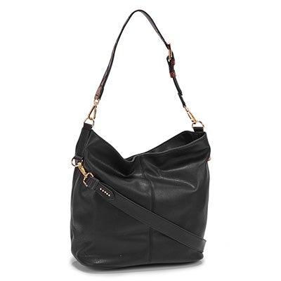 Steve Madden Women's BMONICA black hobo bag
