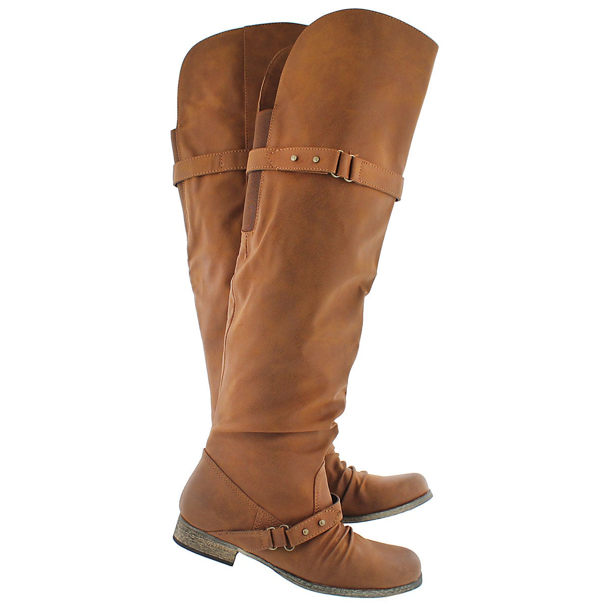Lds Bobbi 2 tan tall riding boot