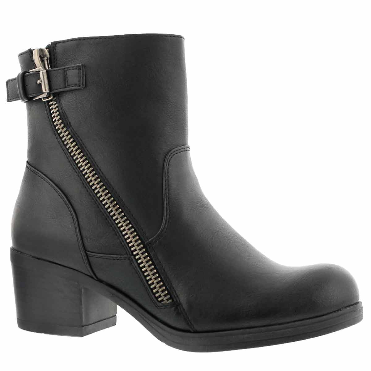 Women's BOBBI JEAN black casual ankle boots