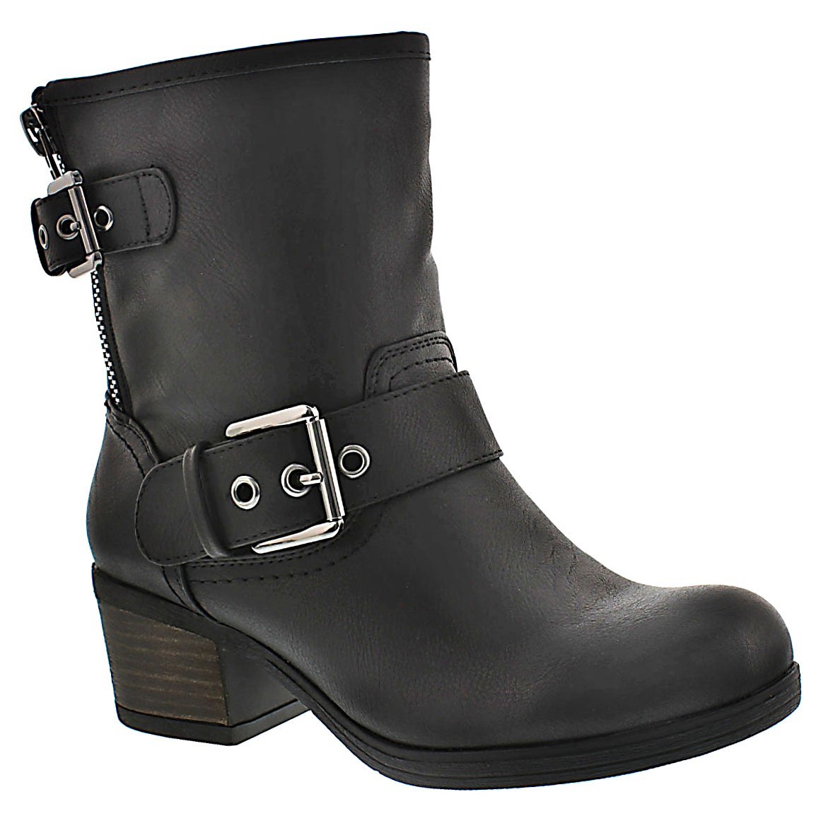 Women's BOBBI JO black casual booties