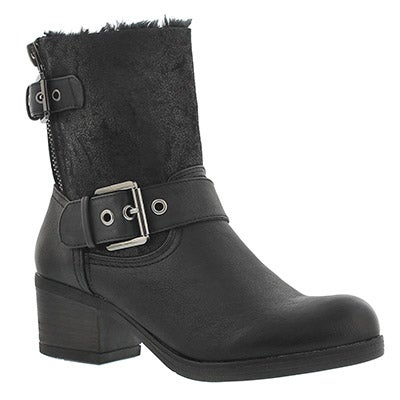 SoftMoc Women's BOBBI JO2 black casual boots