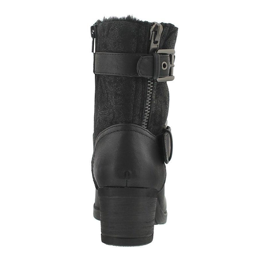 Lds Bobbi Jo2 blk casual boots