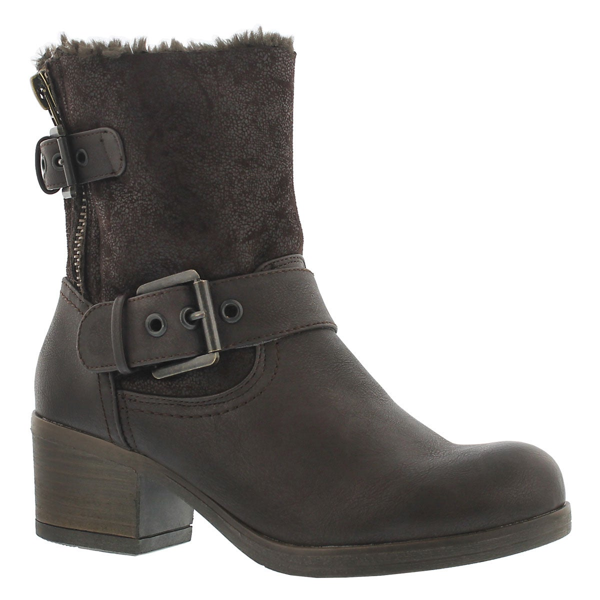 Women's BOBBI JO2 brown casual booties