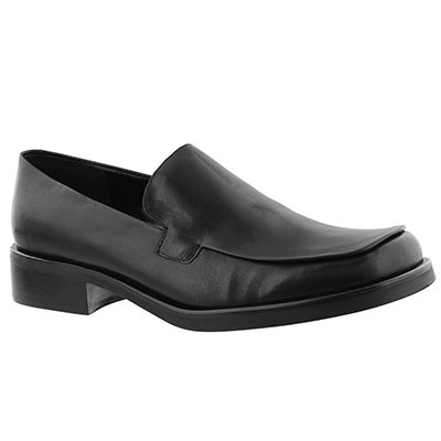 Franco Sarto Women's BOCCA black slip-on loafers