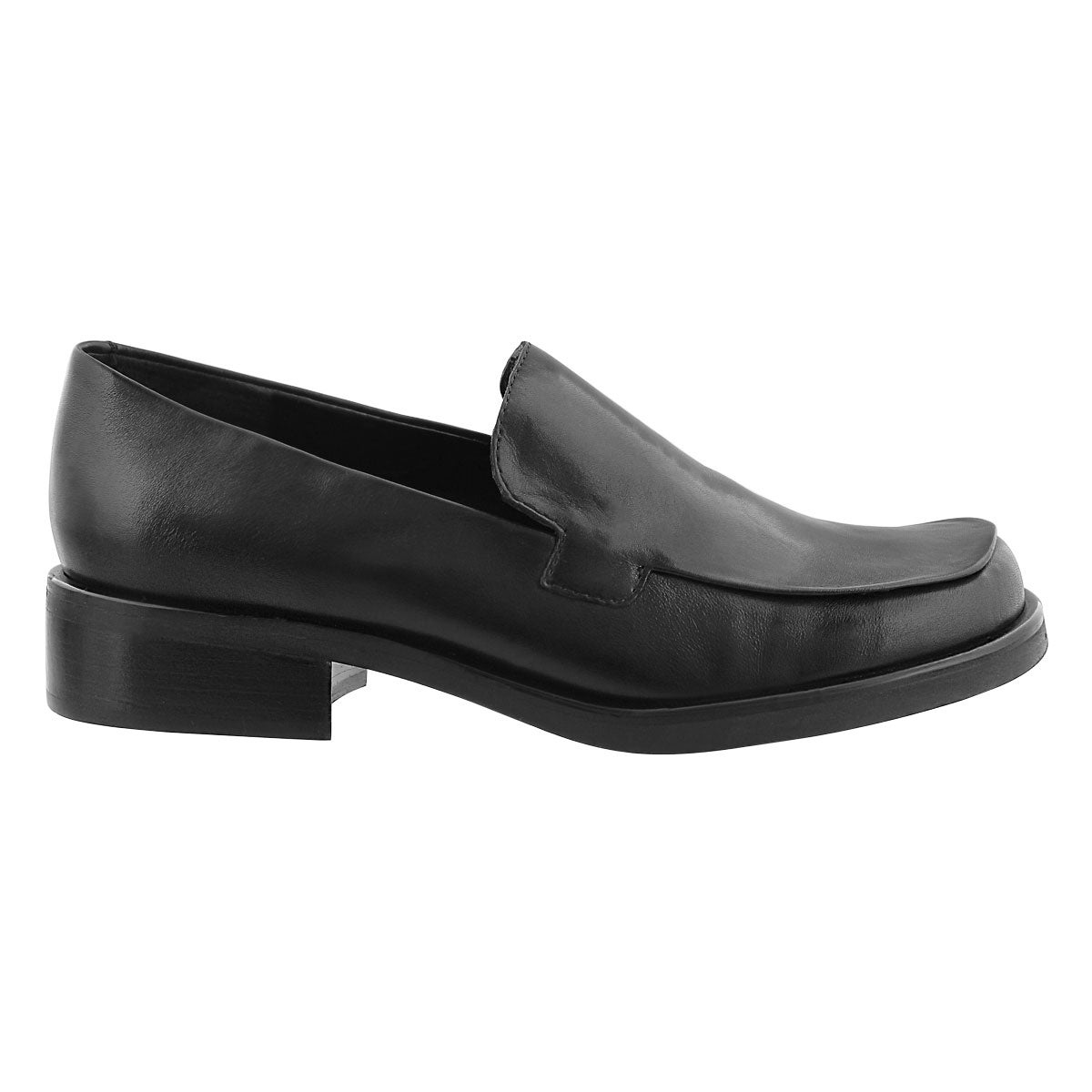 Lds Bocca blk slip on loafer