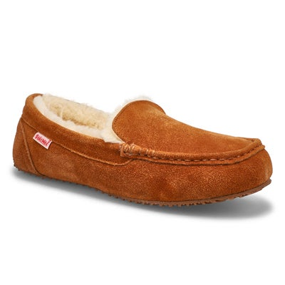 SoftMoc Men's BODHI chestnut memory foam moccasins