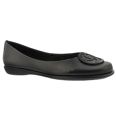 The Flexx Women's BON BON black dress flats
