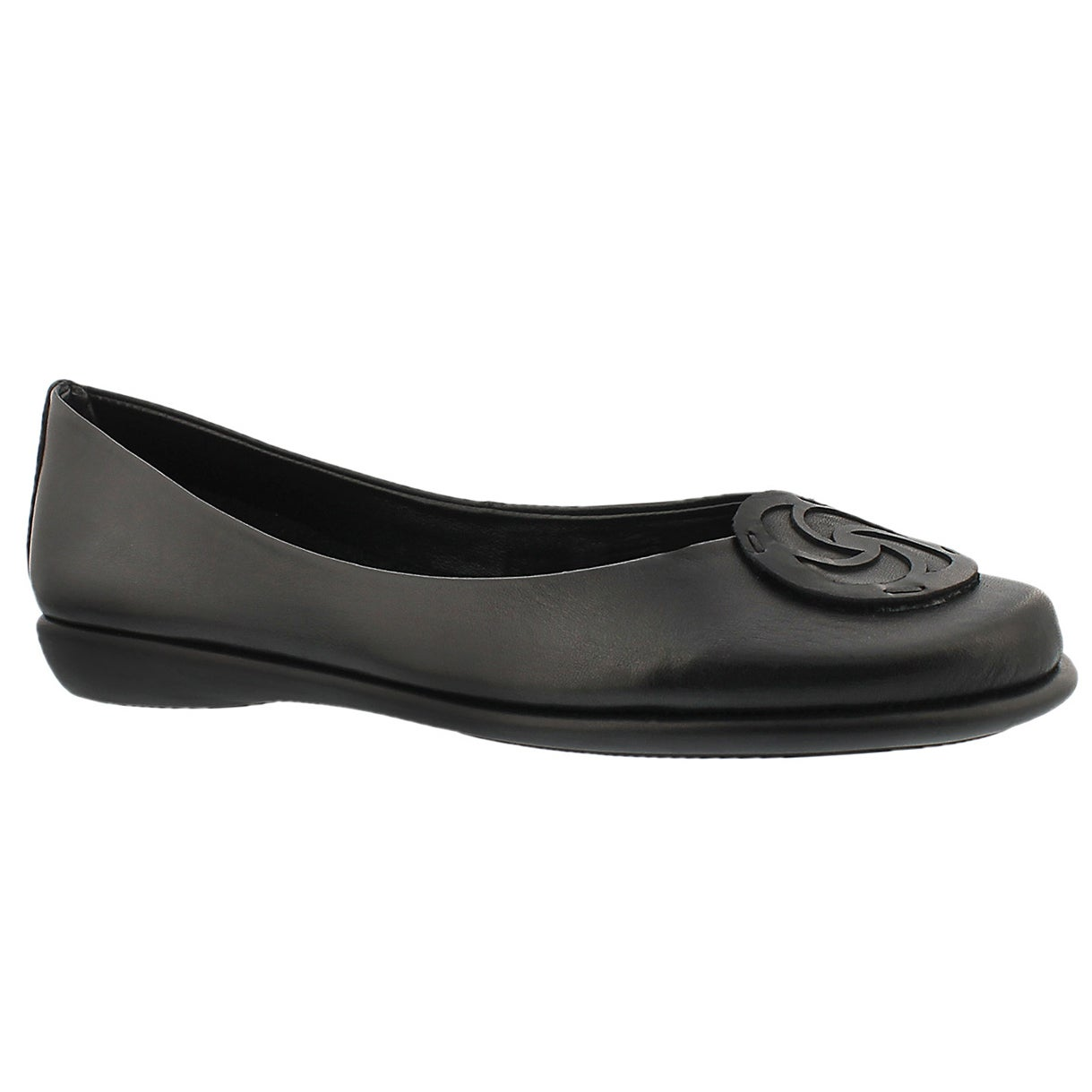 Lds Bon Bon black dress flat
