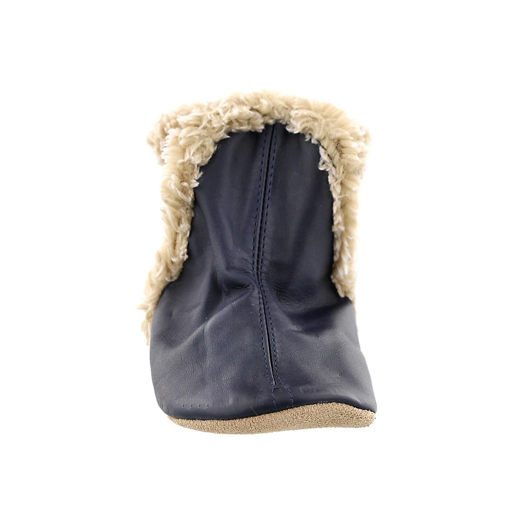 Inf Classic Bootie navy soft soles