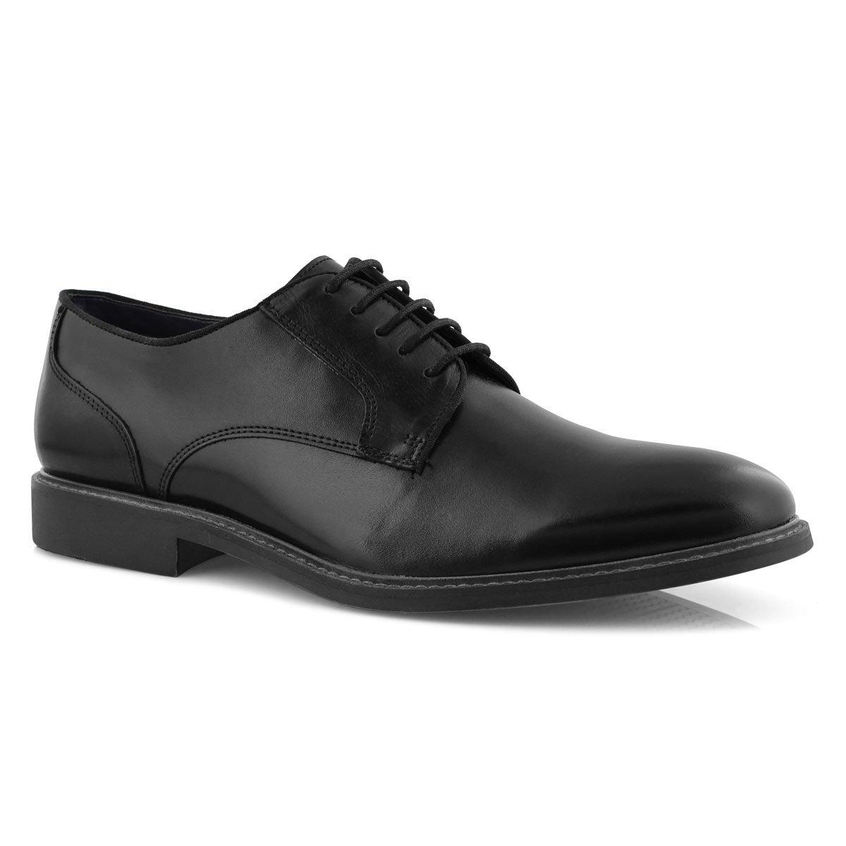 Mns Braddy black laceup dress oxford