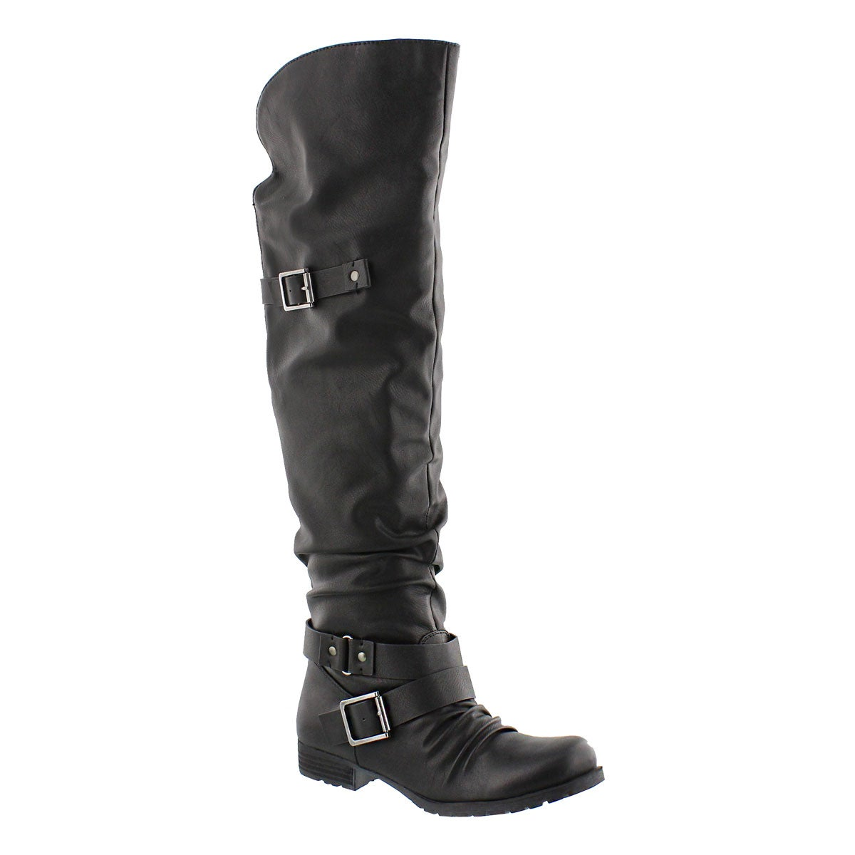 Lds Braelynn black over the knee boot