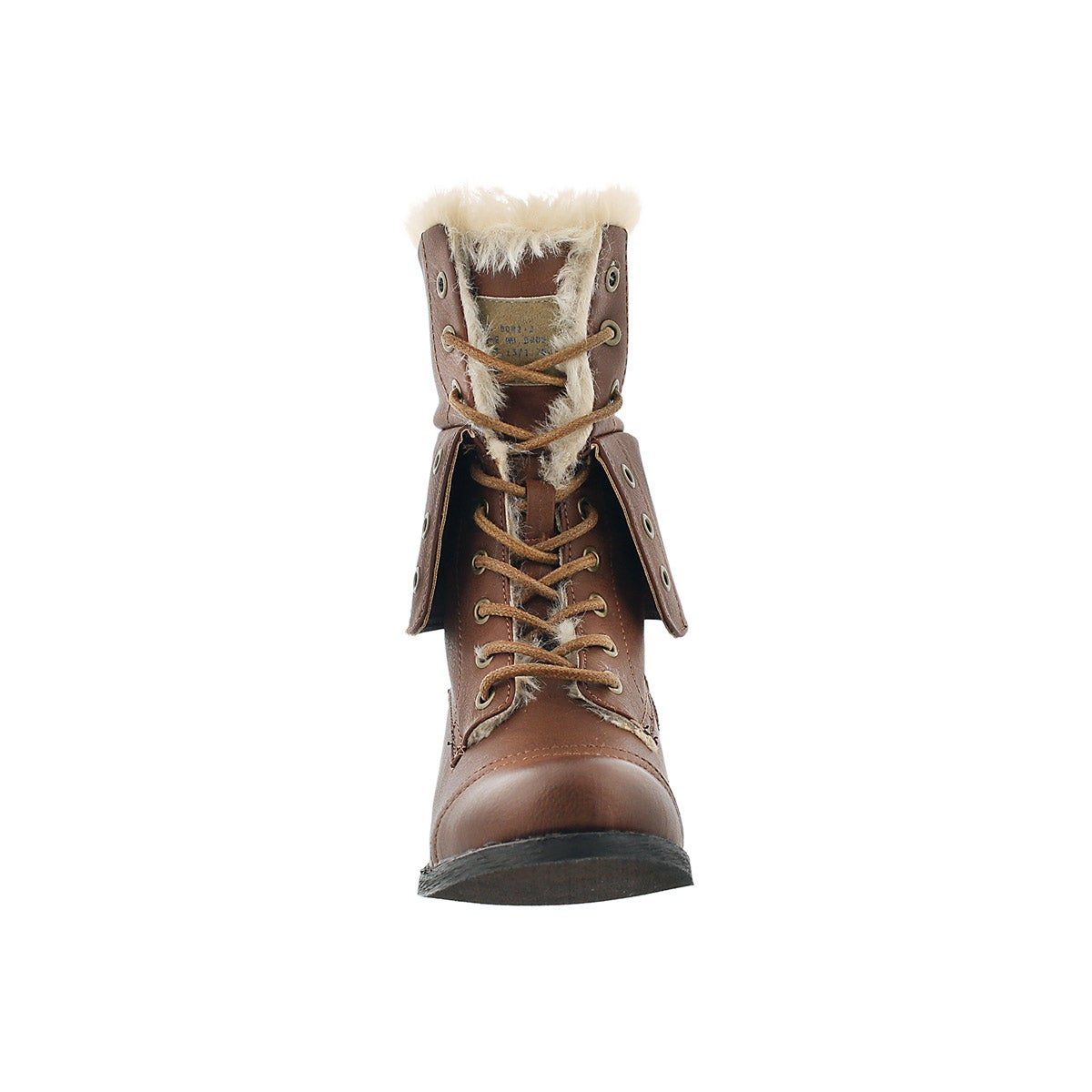 Lds Brandi 2 rust lace up combat boot