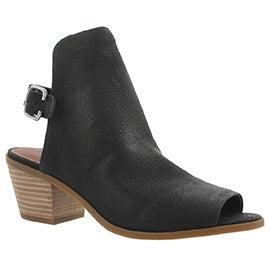 Lds Bray black casual sandal