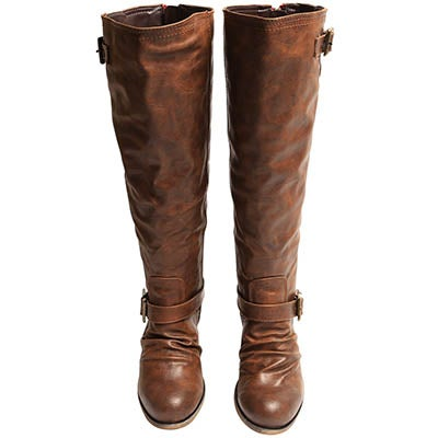 SoftMoc Women's BRENNA camel tall riding boots