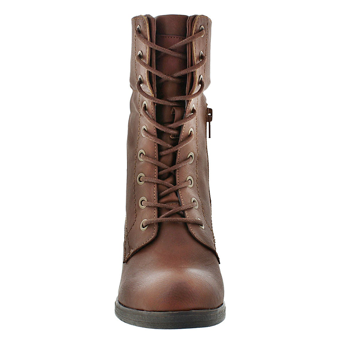 Lds Bria tan fold down combat boot