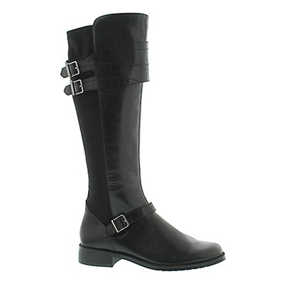 Aerosoles Women's BRIDEL SUITE black tall riding boots