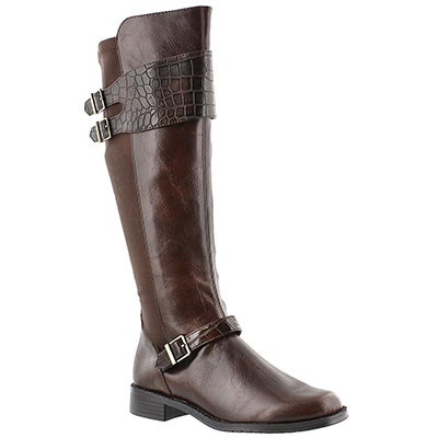 Aerosoles Women's BRIDEL SUITE brown tall riding boots