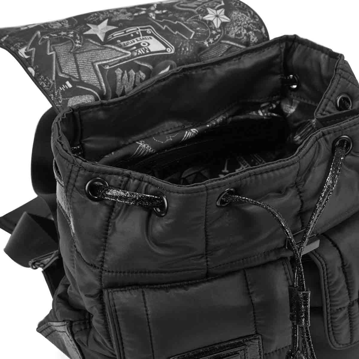 Lds BRoe black medium backpack