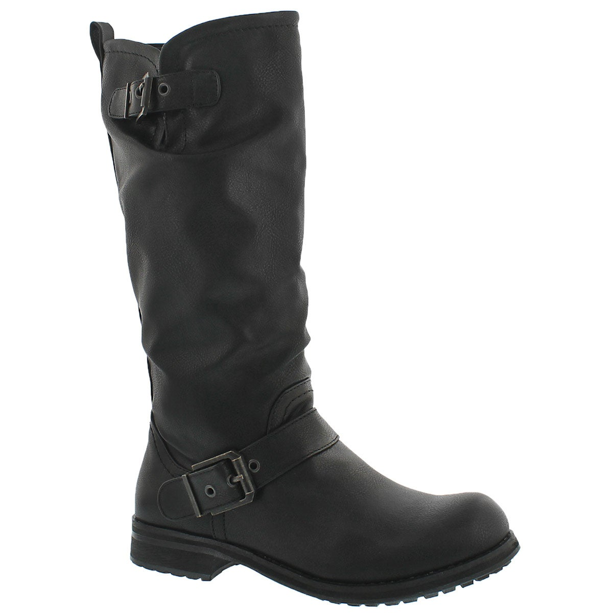 Lds Bryce black casual riding boot