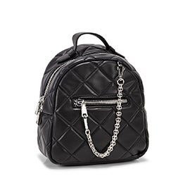 Lds BSelma black fashion backpack