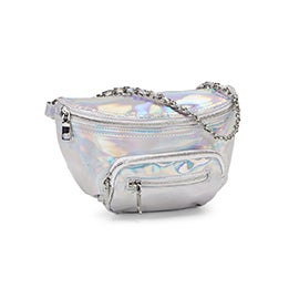 Lds BTia silver fanny pack